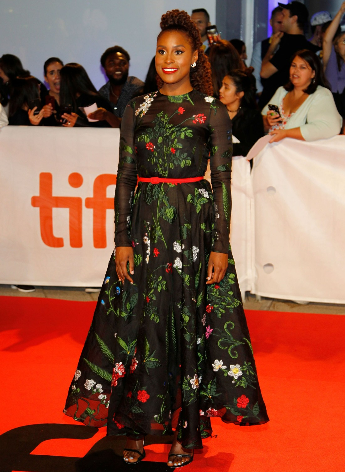 Issa Rae at arrivals for THE HATE U GIVE...