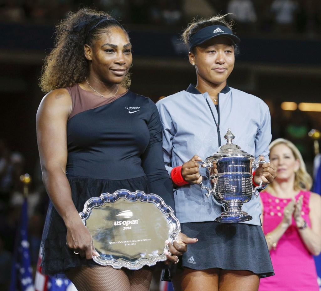 Tennis: Osaka beats S. Williams at U.S. Open