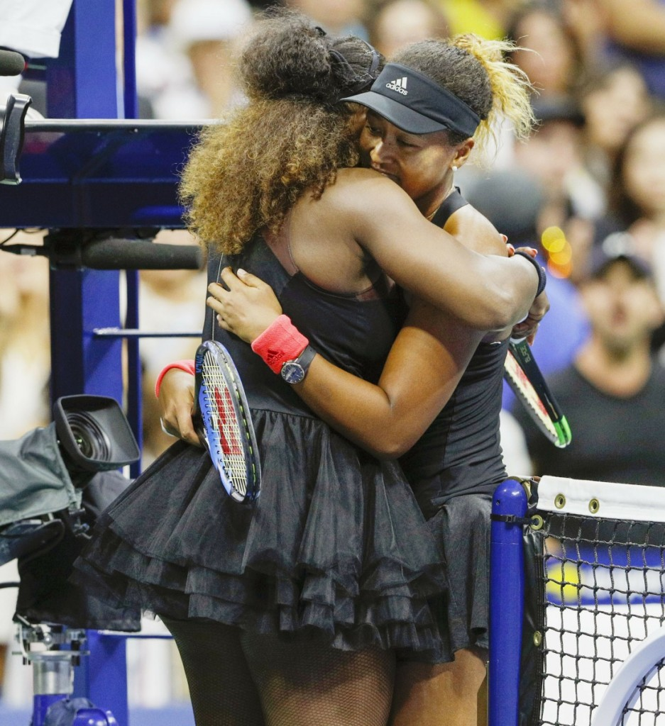 Tennis: Osaka beats S. Williams at U.S. Open