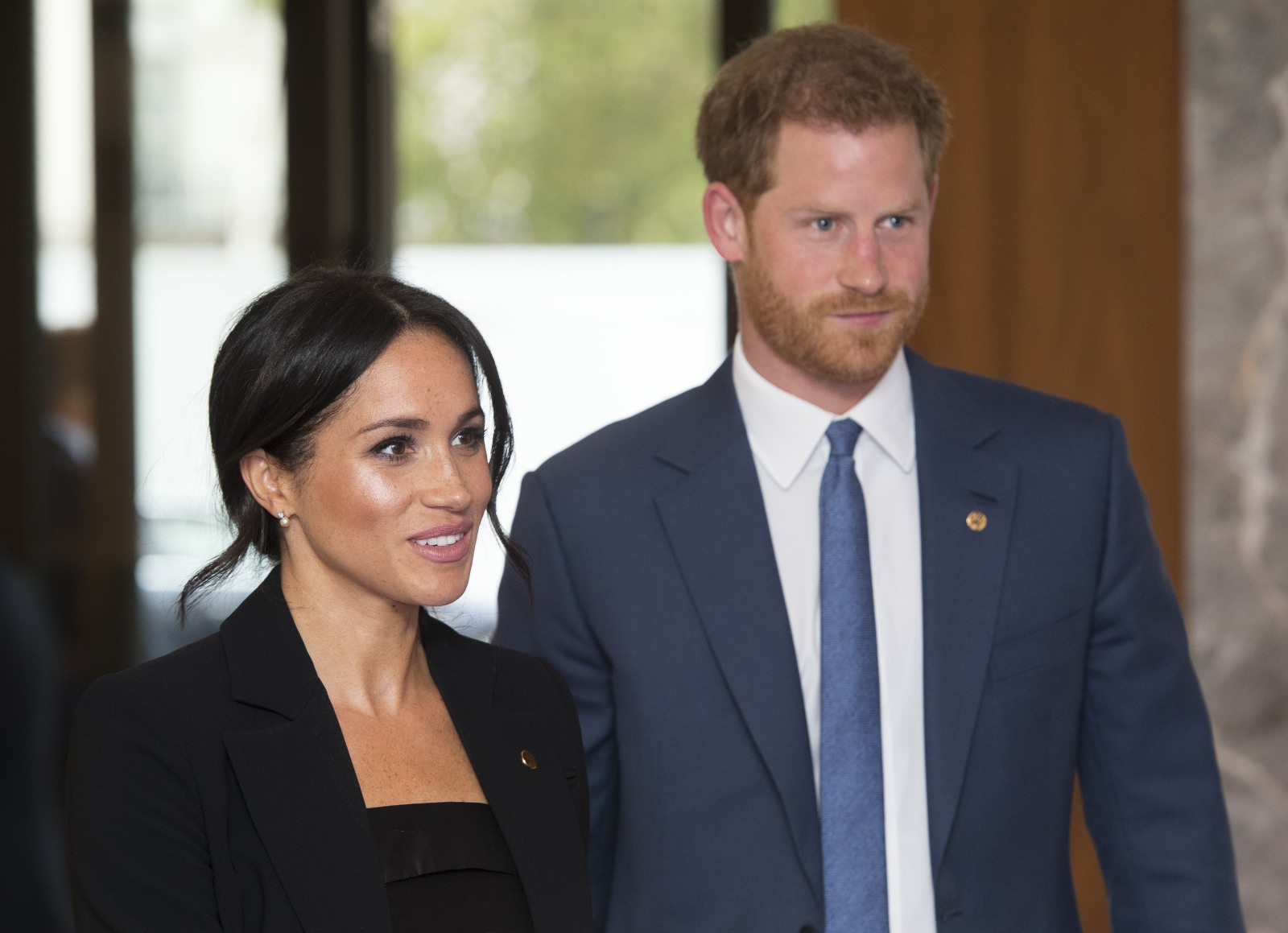 The Duke and Duchess of Sussex at the annual WellChild Awards at the Royal Lancaster Hotel in London.