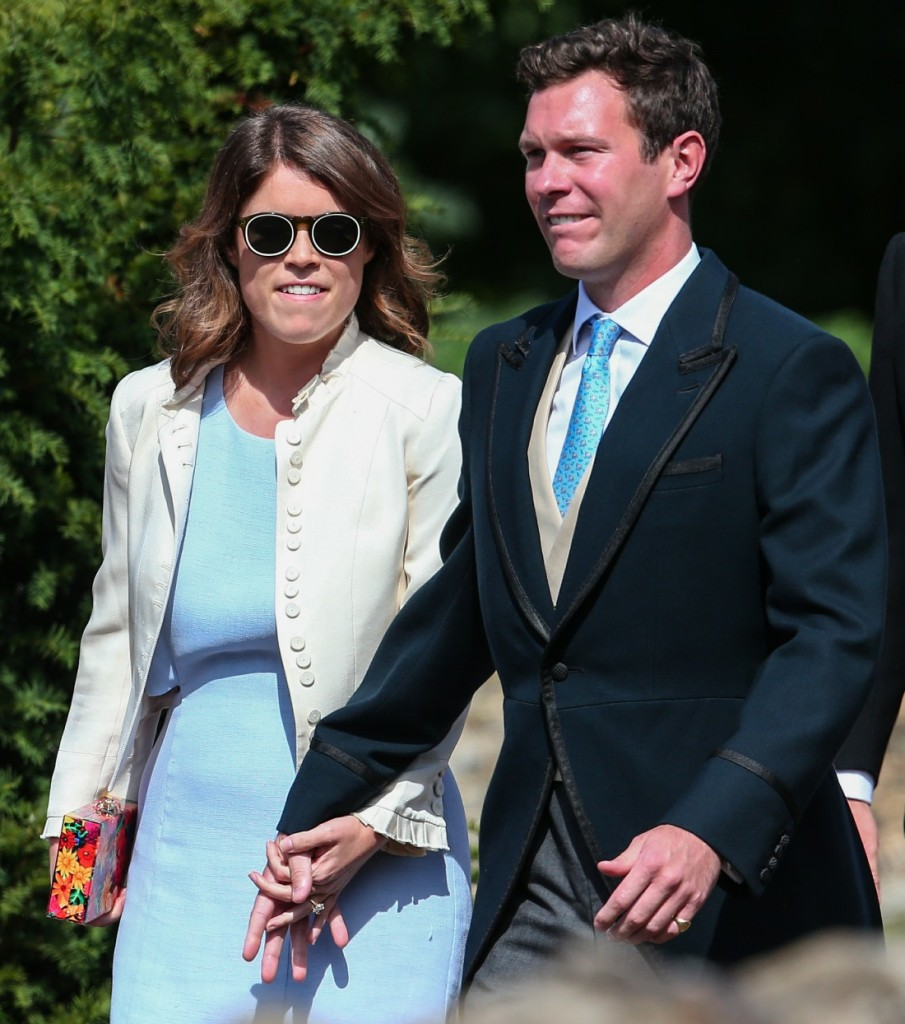 The wedding of Charlie Van Straubenzee and Daisy Jenks at St. Mary the Virgin Church in Frensham