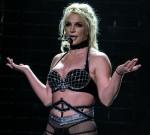 Britney Spears performs at Scarborough Open Air Theatre