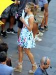 'Murder Mystery' filming in Milan