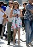 Jennifer Aniston on the set of 'Murder Mystery' in Milan