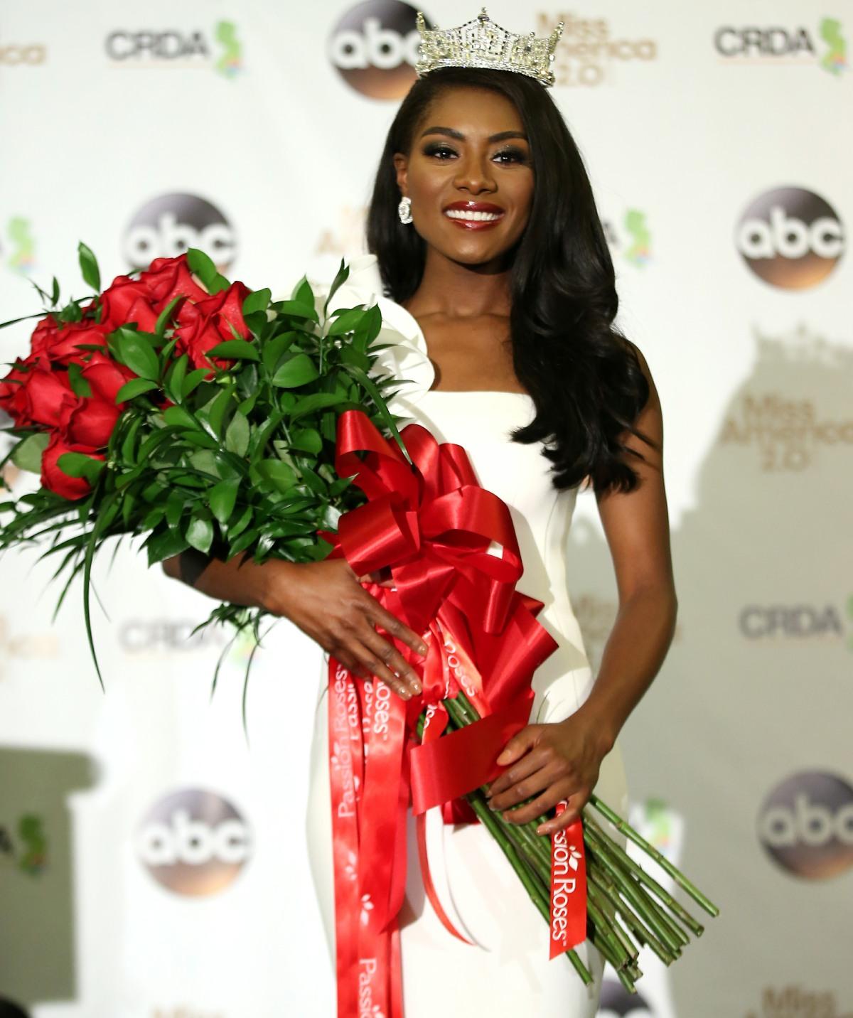 2019 Miss America Press Room