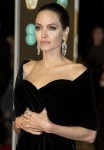 Angelina Jolie arrives on the red carpet for the EE British Academy Film Awards 2018, held at the Royal Albert Hall. (Credit Image: © Ray Tang via ZUMA Press)