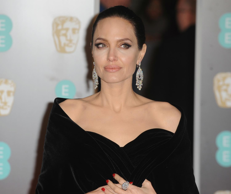 Angelina Jolie attends the British Academy Film Awards held at the Royal Albert Hall. (Credit Image: © Ferdaus Shamim via ZUMA Wire)