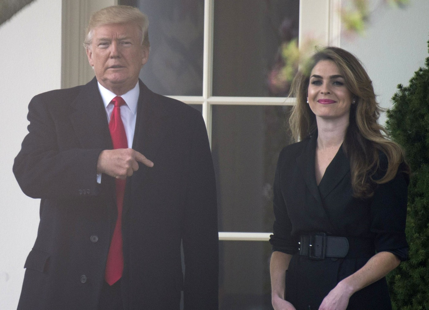 Hope Hicks, 29, is the new head of communications for Fox News