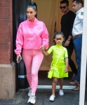 Kim Kardashian steps out with her kids before Kanye West's performance on SNL