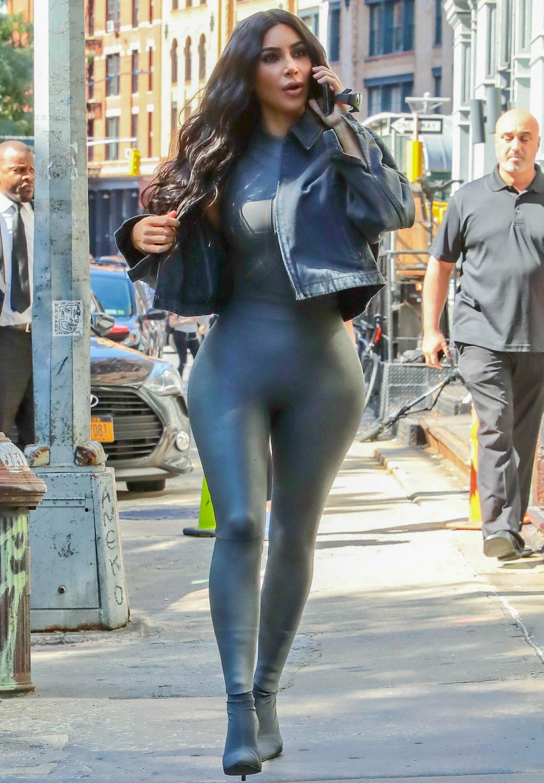 Kim Kardashian looks stunning while out in New York