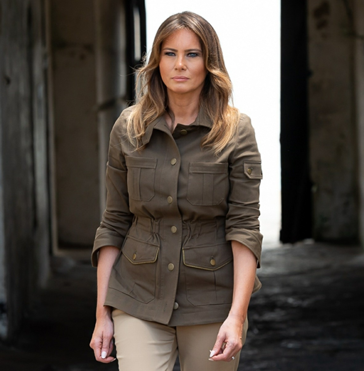 Melania Trump makes an official visit to Ghana