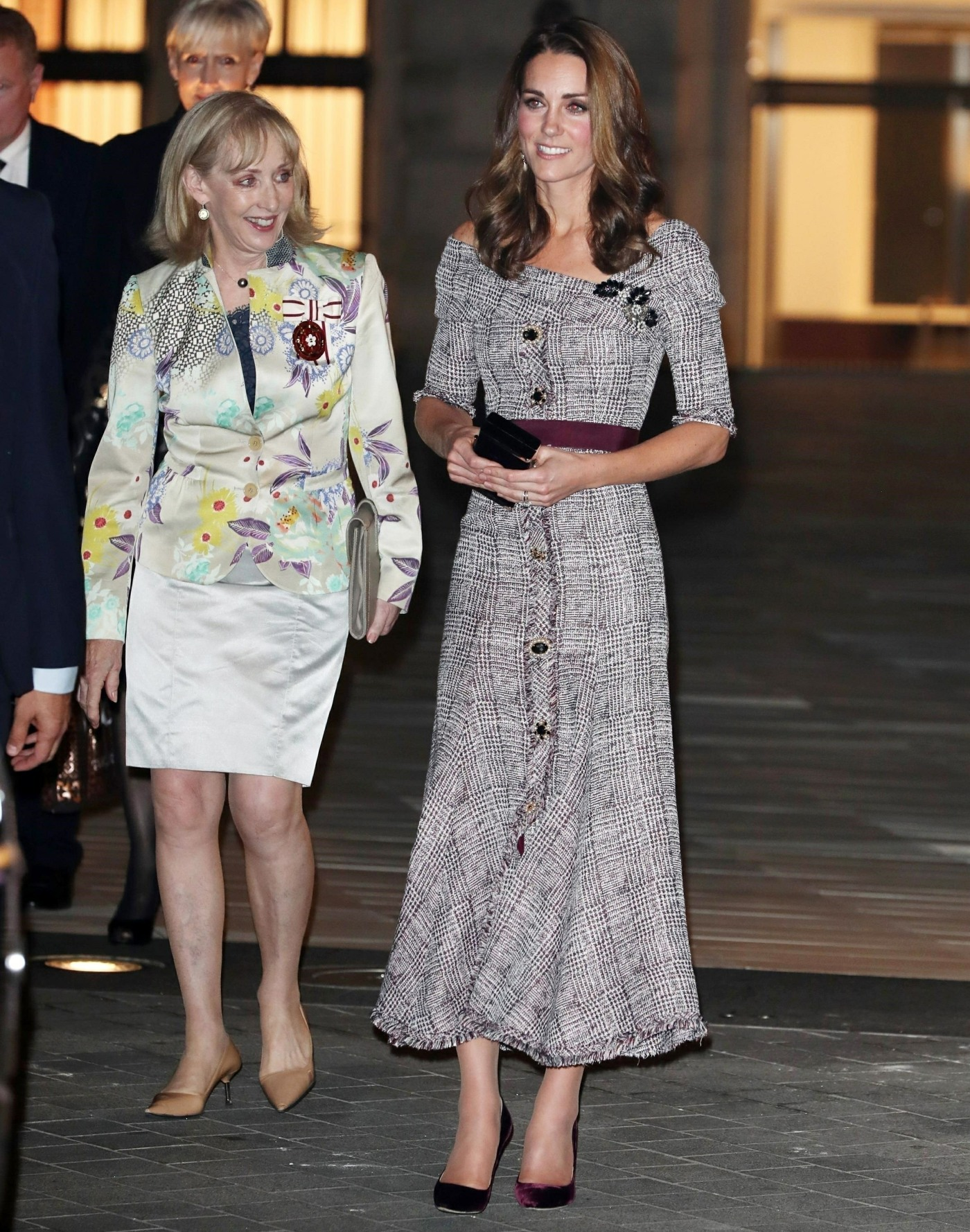 Duchess Of Cambridge Leaves V&A Photography Centre