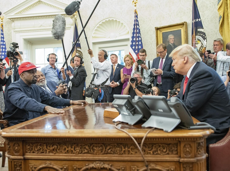 President Donald J. Trump meets Kanye West!