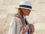 US First Lady Melania Trump in Egypt