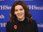 Nigella Lawson signs copies of her new book 'At My Table'
