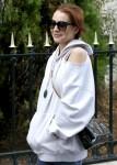 Lindsay Lohan in Paris