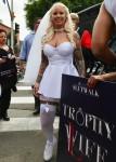 Amber Rose attends the 2018 Slutwalk in downtown LA