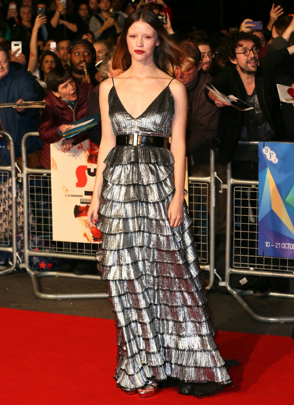 The BFI 62nd London Film Festival UK Premiere of 'Suspiria' held at the Cineworld Leicester Square - Arrivals