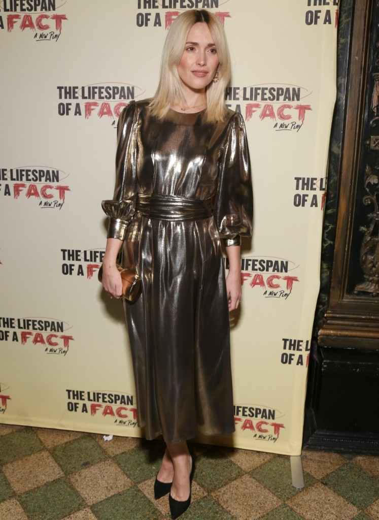 Opening night of 'Lifespan Of a Fact'