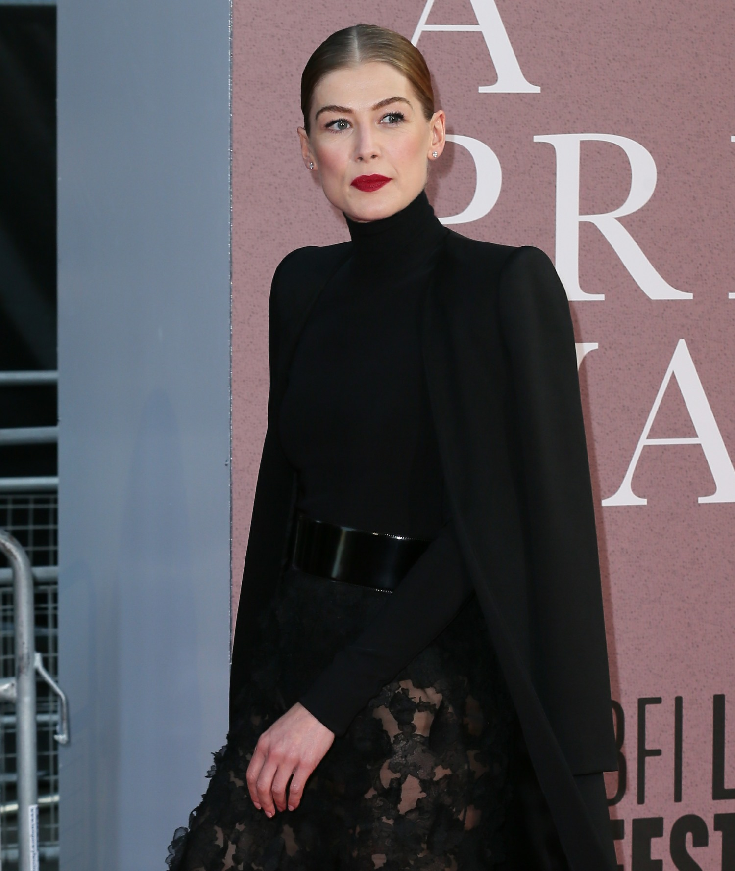 The BFI 62nd London Film Festival European Premiere of 'A Private War' held at the Cineworld Leicester Square - Arrivals