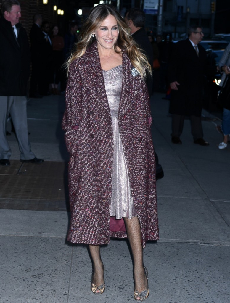 Sarah Jessica Parker at 'The Late Show with Stephen Colbert'