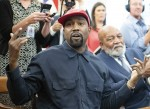 Kanye West meets with Jim Brown and President Donald J. Trump in Washington