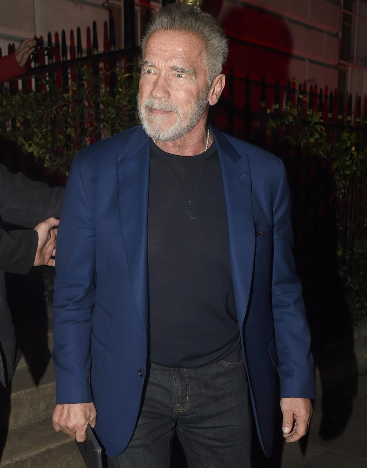 Arnold Schwarzenegger met his daughter & Chris Pratt for breakfast, Chris paid