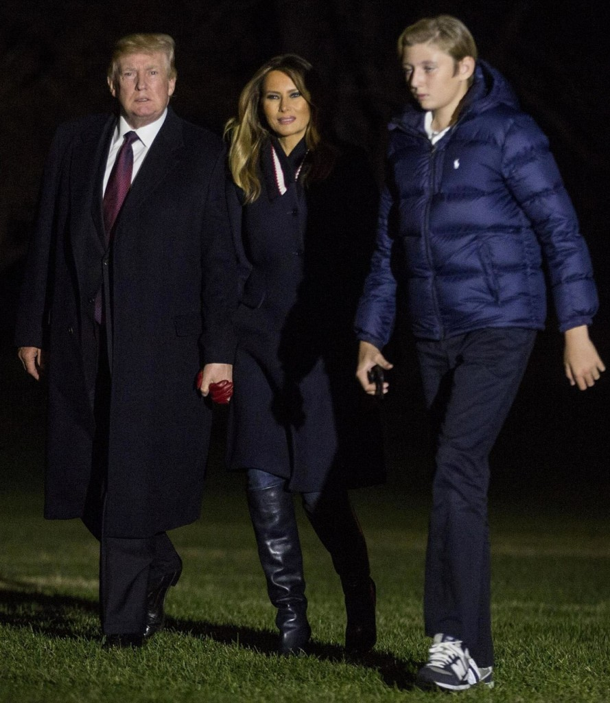 President Trumps returns from Thanksgiving in Florida