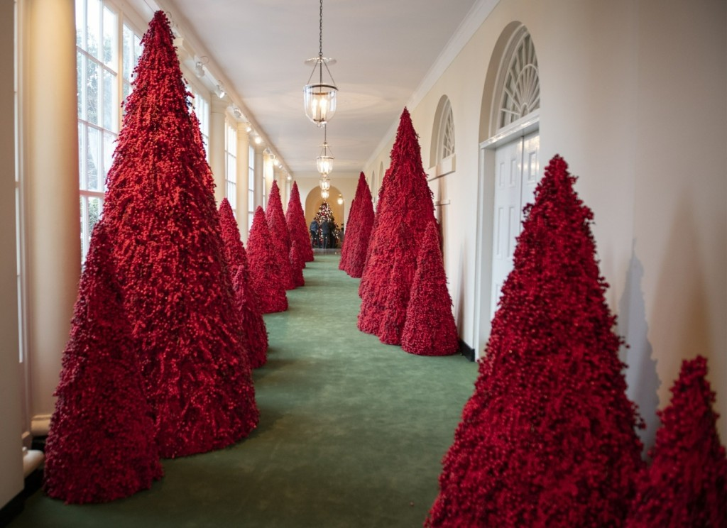 2018 White House Christmas Decorations