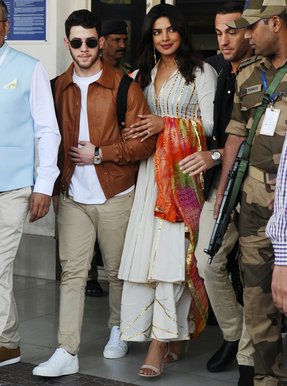 Priyanka Chopra and Nick Jonas arrive in Jodhpur ahead of their grand royal wedding