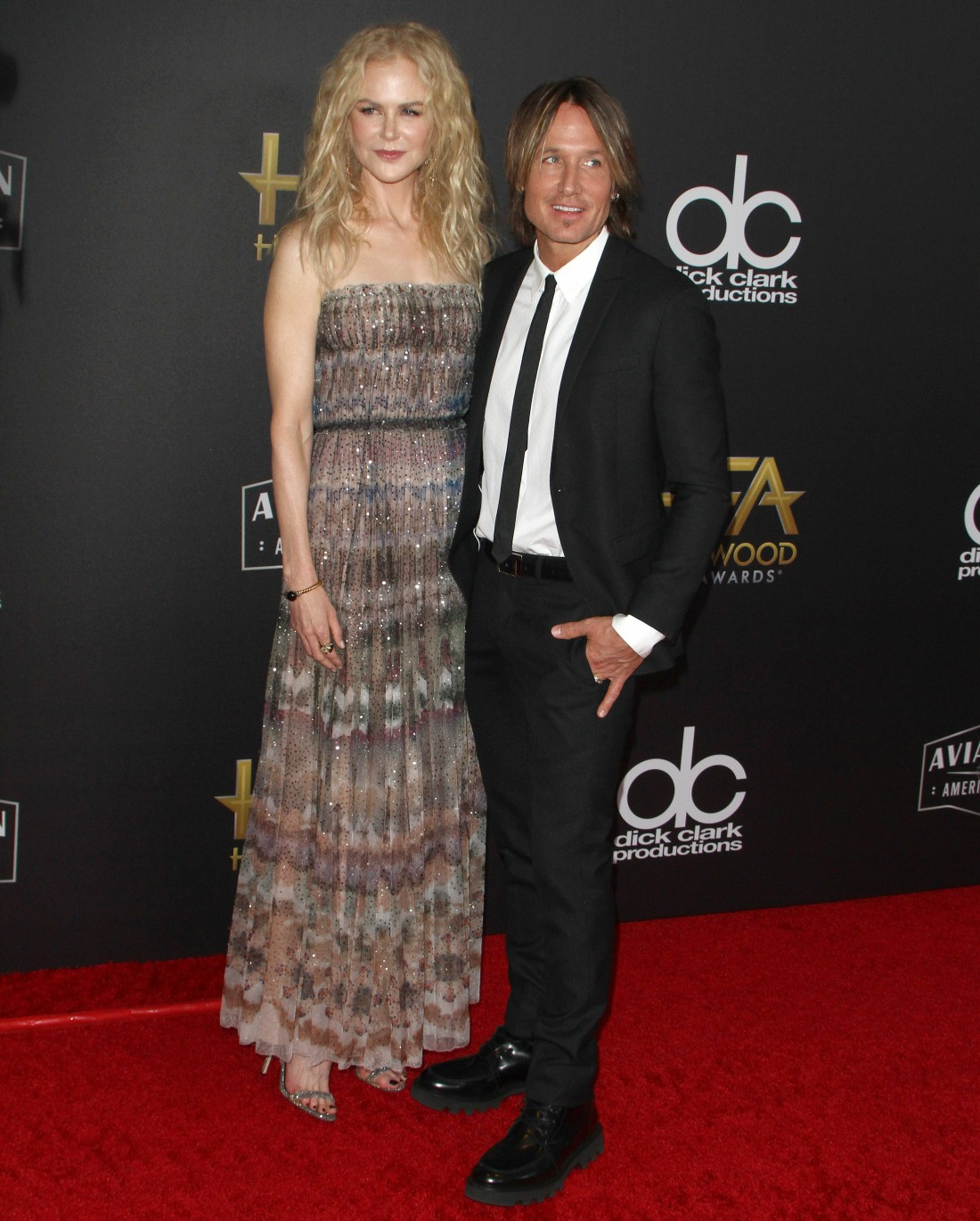 Keith Urban, Nicole Kidman attends The 22nd Annual Hollywood Film Awards in Los Angeles