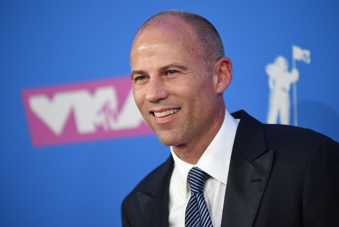 Michael Avenatti was arrested on a charge of felony domestic violence in LA