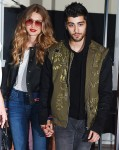 Gigi Hadid and Zayn Malik hold hands as they go out in SoHo, NYC