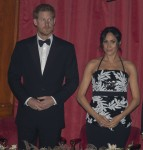 Prince Harry, Duke of Sussex, and Meghan, Duchess of Sussex, attend the Royal Variety Performance at the Royal Albert Hall