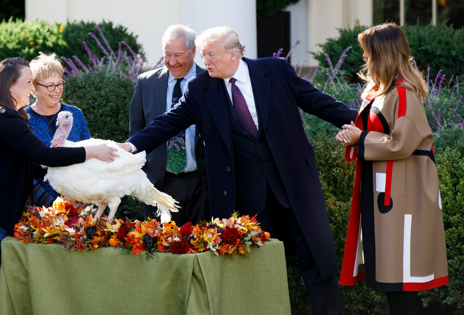 U.S. WASHINGTON D.C. TRUMP THANKSGIVING TURKEY PARDONING CEREMONY