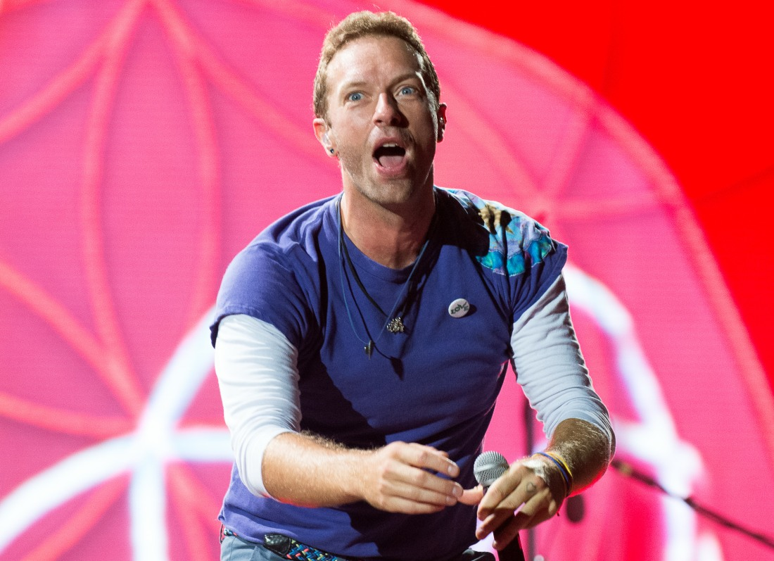 Coldplay performs in Toronto