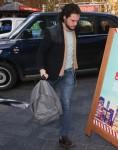 Kit Harington seen arriving at Global studios