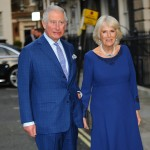 Prince Charles and Camilla, Duchess of Cornwall arrive at Spencer House