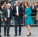 Prince William, Duke of Cambridge and Catherine, Duchess of Cambridge visit the BBC