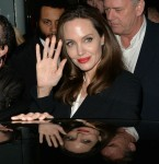 Angelina Jolie oozes glamour as she emerges from BFI Waterloo in London