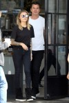 Gavin Rossdale and Sophia Thomalla go on a romantic stroll after breakfast