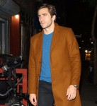 Jake Gyllenhaal supports his sister Maggie Gyllenhaal at the screening for her Netflix film