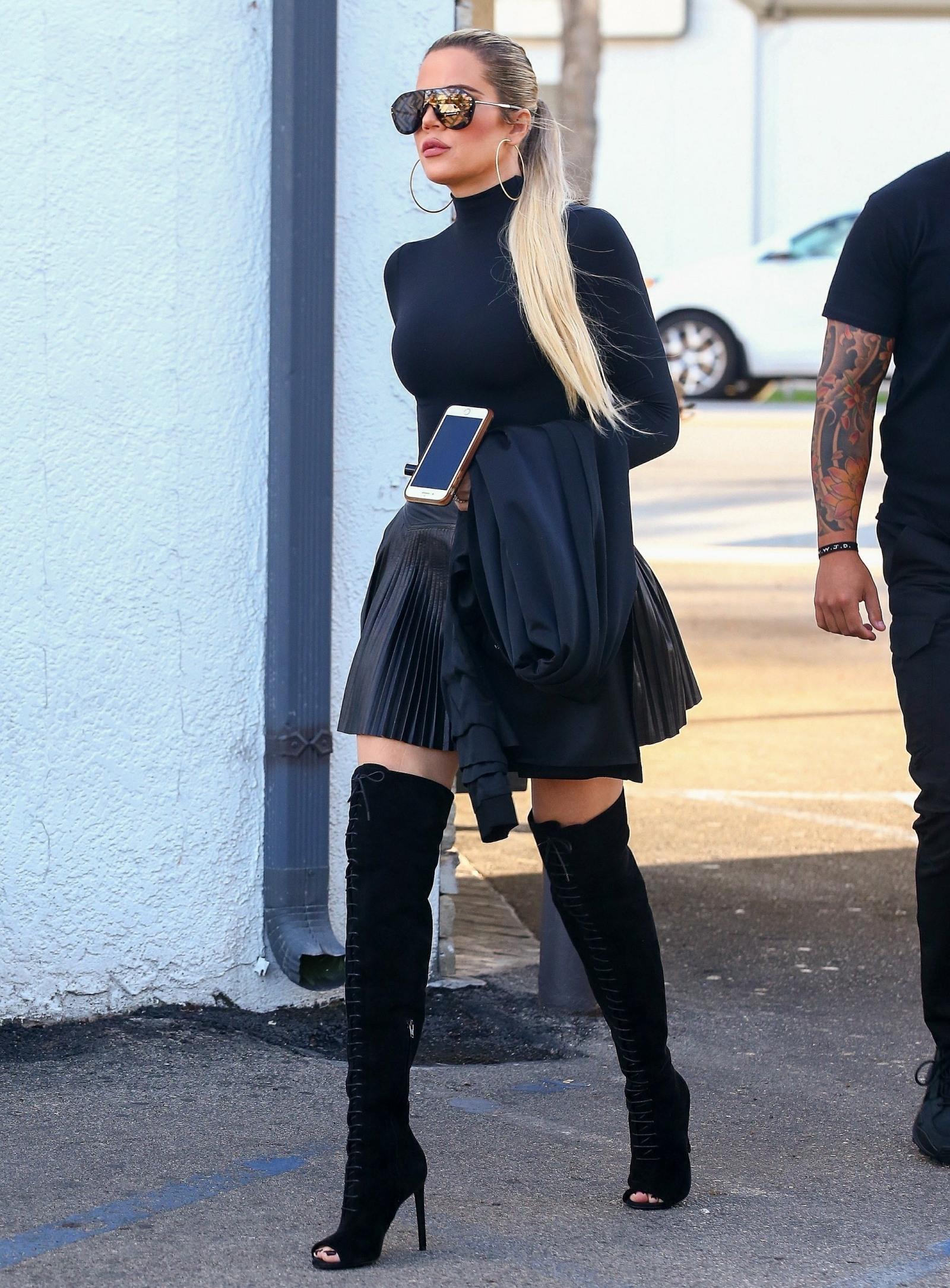 The Kardashian's film at Casa Vega