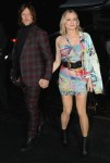 Diane Kruger and Norman Reedus arrive at the Versace fashion show in NYC