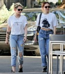 Kristen Stewart takes new mystery girl out for lunch in LA