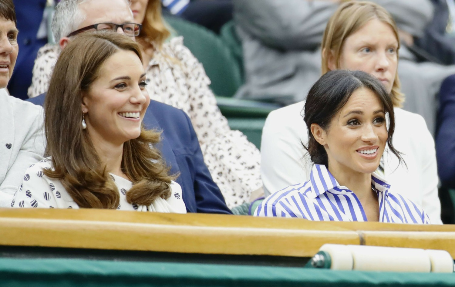Tennis: British princesses at Wimbledon