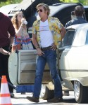"""Brad Pitt on the set of """"Once Upon A Time In Hollywood"""""""