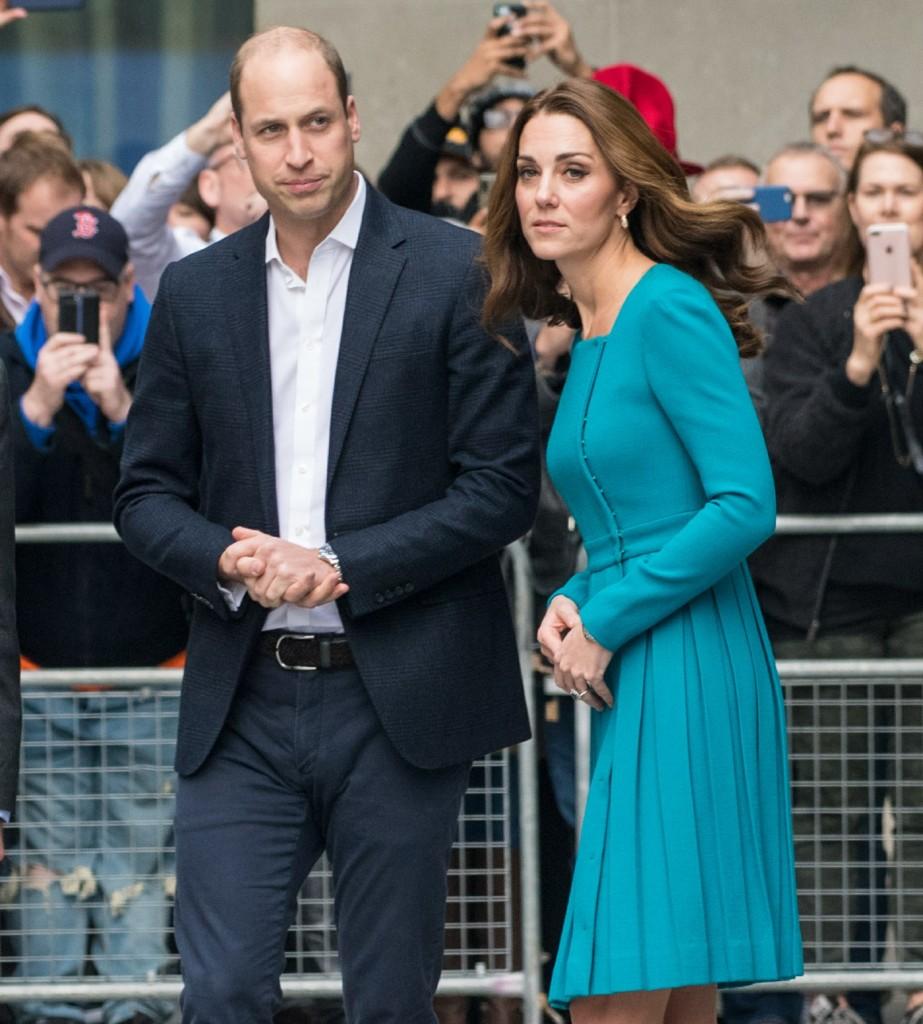 Prince William, Duke of Cambridge and Catherine, Duchess of Cambridge visit the BBC