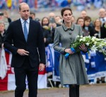 The Duke and Duchess of Cambridge visit Leicester City Football Club's King Power Stadium