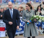William Kate LCFC flowers